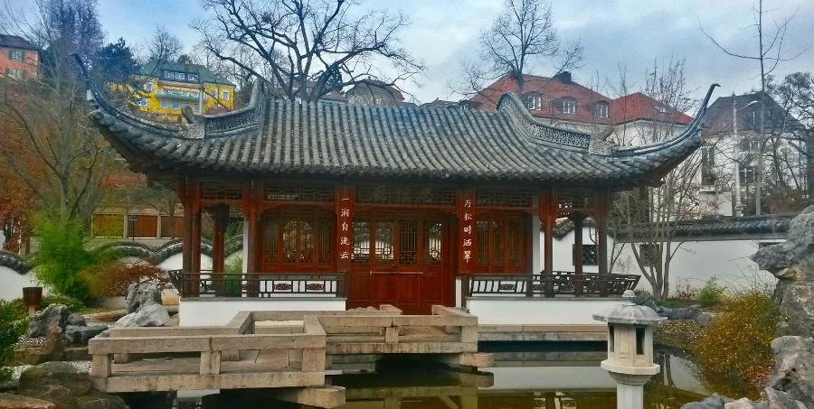El jard n chino qingyin garten der sch nen melodie e for Chino el jardin