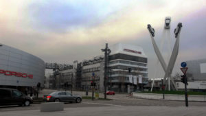 """""""Inspiration 911"""" en la Porscheplatz de Stuttgart"""