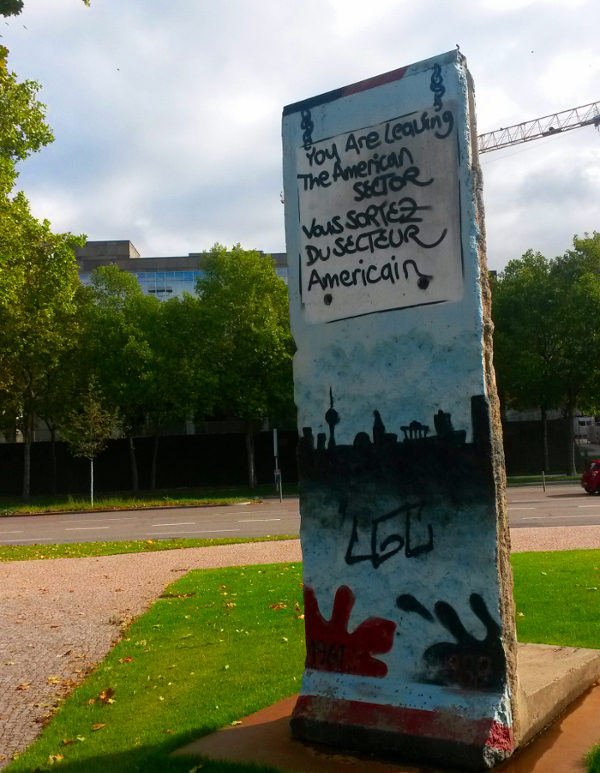 El muro de Berlín en Stuttgart