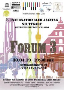 1 Internationaler Jazztag Stuttgart